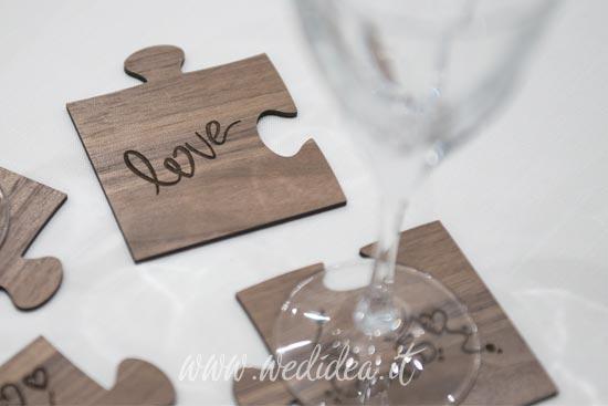 Bomboniera scritta love