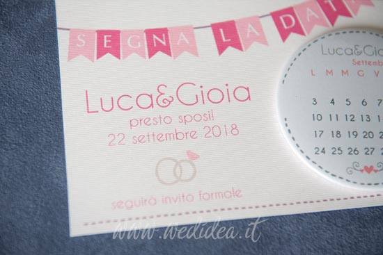 Save the date sposi matrimonio