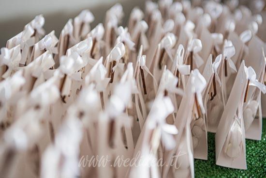 Sacchetti per confetti matrimonio personalizzati
