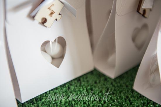 Sacchetto confetti personalizzato per matrimonio